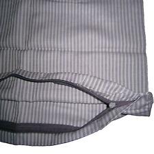 Kopfkissenbezug Kissenbezug Kissenhülle 80 x 80 cm Gestreift 100% Baumwolle NEU