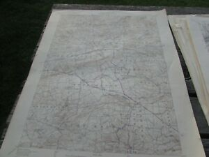 HONEYBROOK  PENNSYLVANIA - TOPOGRAPHIC MAP U.S. GEOLOGICAL SURVEY 1944