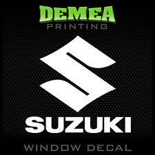Suzuki - Personalized Window Car Decal/Sticker - 5""