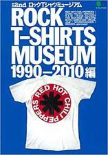 Rock T-Shirts Museum Japan Book 1990's - 2010's Vintage Band T-shirt JPN