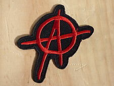 ECUSSON PATCH TOPPA AUFNAHER THERMOCOLLANT ANARCHY 2 skin punk ska rock métal