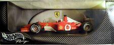 HOT WHEELS 54627: FERRARI F 2002, #2 Rubens Barrichello, NUOVO & OVP-non aperto
