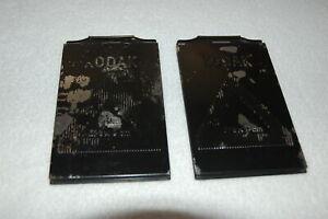 Kodak Planfilmkassetten für 6,5x9cm, 2 Stück