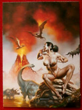 IMAGES OF JOSEPHINE - Card #62 - LOST WORLD by Boris Vallejo - 1997