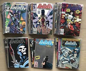 The Punisher #1-104 with 24 APVs & Annuals - Marvel Comics Spider-Man Daredevil
