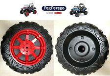 PEG PEREGO 2 ruote posteriori POLARIS RANGER RZR 900 12 VOLT COPPIA-nuovo-Italia