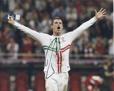 Cristiano Ronaldo *PORTUGAL* Original AUTOGRAMM auf Farbfoto 8x10 Zoll *SIGNED*