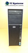 HP Z400 MT WORKSTATION INTEL 2.93GHZ SIX-CORE,24GB RAM, 1TB, QUADRO 4000, WIN 7