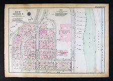 New York City Map Manhattan George Washington High School - Tyron Tower - Heigts
