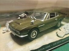 JAMES BOND CARS COLLECTION 012 ASTON MARTIN DBS ON HER MAJESTYS SECRET SERVICE