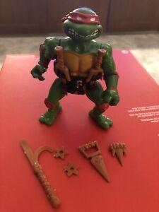 1988 Playmates Teenage Mutant Ninja Turtles TMNT Raphael figure complet