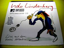 UDO LINDENBERG - MTV UNPLUGGED 2CD LTD EDIT | INGA HUMPE CLUESO JAN DELAY && OVP