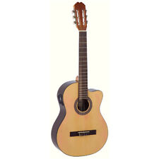 Admira Guitars Sara EC Nylon Classical Acoustic Electric Guitar, Oregon Pine Top