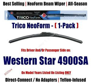 1-Pack Super-Premium NeoForm Wipers fits 2002+ Western Star 4900SA - 16200