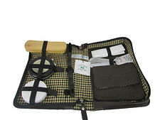 Cutter & Buck 7-piece Shoe Shine Kit (Leather) With Carrying case--Great Gift