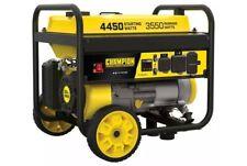 Portable Generator- Champion Power Equipment 3550W