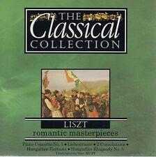 LISZT - PIANO CONCERTO No 1 + HUNGARIAN FANTASIA, LIEBESTRAUM NO 3 ETC - CD 1993