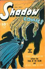 Shadow Comics Vol 5 #9 Trail Of The Talon 1945 VG A/E