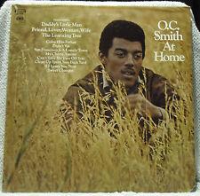 O.C. SMITH At Home LP (Columbia CS-9908, orig 1969) EX Vinyl EX Jacket