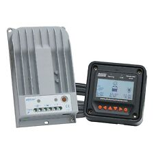High efficiency 10A MPPT solar charge controller with LCD meter up to 150V input