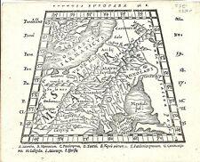 Antique map, Scythia Europaea