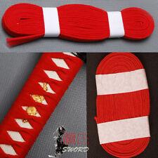 Red Cotton Ito Sageo Wrapping Cord For Japanese Samurai Sword Katana Tsuka 4m