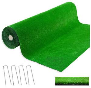 Erba sintetica rotolo 2 x 6 MT con 4 picchetti h7 mm prato verde giardino casa