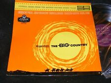 Western Film Soundtrack LP THE BIG COUNTRY London Made In England Jerome Moross