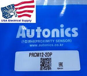 PRCM12-2DP  Autonics Proximity Sensor  10-30VDC PNP