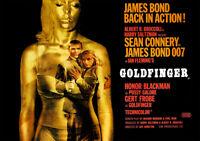 James Bond 007: Goldfinger (Sean Connery) - Filmposter DIN A1