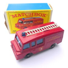 Matchbox Lesney No. 57 Land Rover Fire Truck in OVP #4144