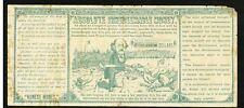 1880 Anti Greenback Absolute Money $1000 Political Satire Note - Benjamin Butler