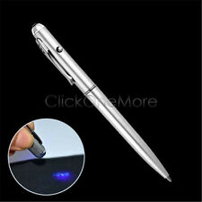 Invisible Ink Spy Pen Security UV Light Magic Marker Secret Message Pen Kid Gift