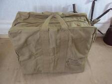 USAF ww2 Aviators Kit Bag Canvas/borsa Da Aviatore Giacca Overnight Bag Weekender