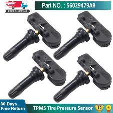 4PCS 56029479AB Tire Pressure Monitoring Sensor For Dodge Chrysler Suzuki Jeep