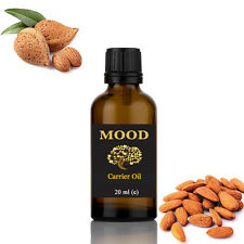 Carrier Oil Sweet Almond 20ml Aromatherapy Diffuser Burner Therapeutic Oils