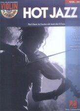 Hot Jazz Violin Play-Along Violon Violon notes avec CD