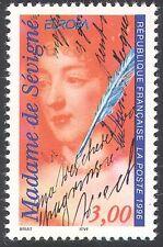 France 1996 Europa/Famous Women/Mme de Sevigne/Writers/Diarist 1v (n42534)