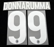 AC Milan donnarumma 99 Football Shirt Name/Number Set Kit Home Serie a 2017/18