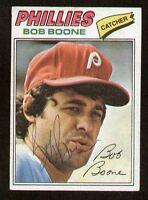 Bob Boone #545 signed autograph auto 1977 Topps Baseball Trading Card