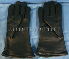 USGI Military Leather WOOL LINED Dress GLOVES Black Size 2 Small NIB