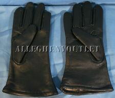 USGI Military Leather WOOL LINED Dress GLOVES Black Size 2 Small NIB