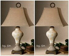 FRENCH PROVINCIAL COUNTRY HOME DECOR TABLE LAMPS