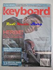 KEYBOARD Magazine SEALED Giu 2008 Herbie Hancock Jordan Rudess Casio Sonic No cd
