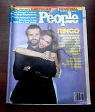 People Magazine  Feburary 12 1981 Ringo Talks About John Lennon Beatles Ex.Cond.