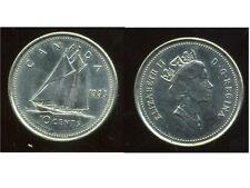 CANADA 10 cent  1993 ( bis )