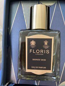 Floris Honey Oud Eau de Parfum 15ml spray new Unboxed