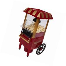 WICKED GIZMOS Electric Mini Retro Carnival Popcorn Maker 1200W - Red