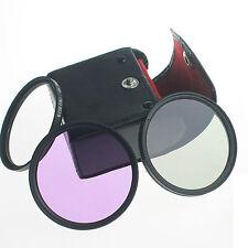 40.5mm UV + CPL + FLD Lens Filter Set + bag for Nikon 1 J1 V1 V2 camera DSLmm
