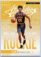 2019-20 Absolute Memorabilia Basketball Cam Reddish Rookie Card #9 Atlanta Hawks